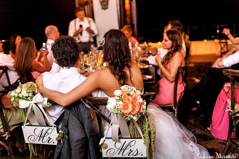 Mr & Mrs. - Ary Iturralde Wedding Design