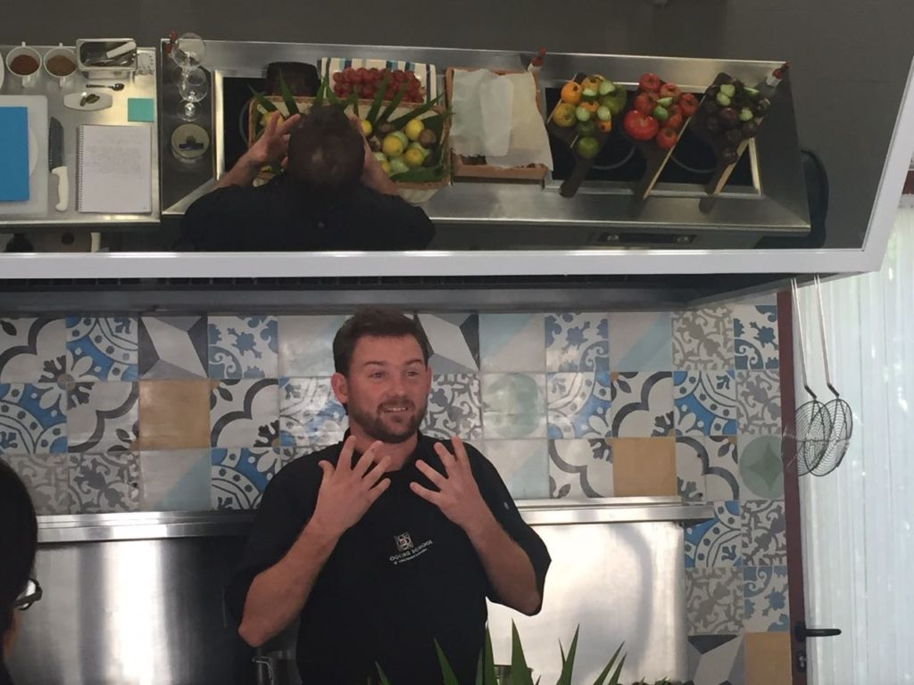 Vincent Wallez Andaz Chef Ejecutivo