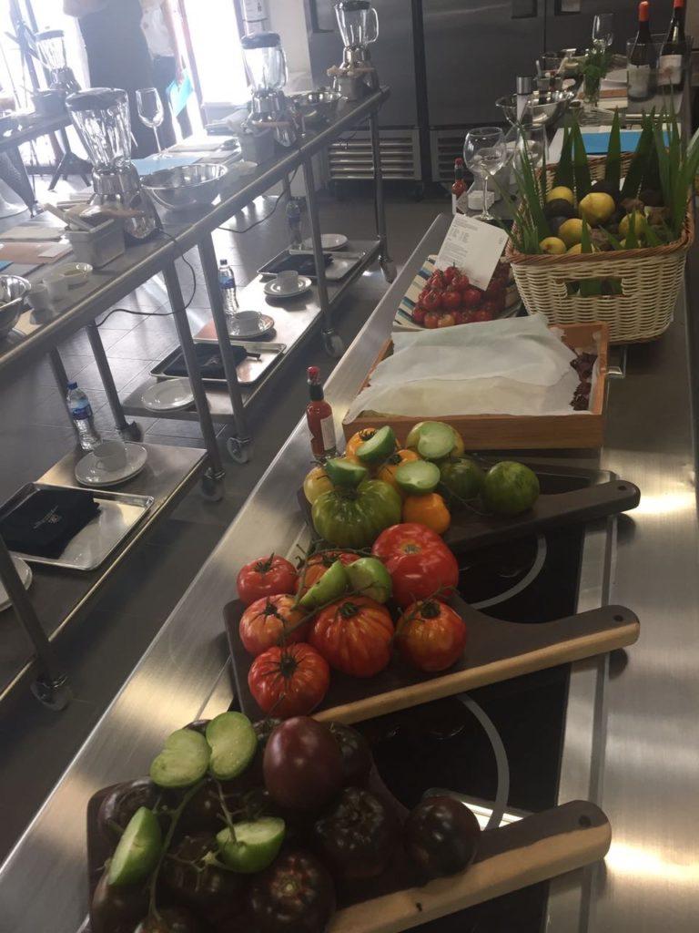 Cooking Class con el Chef Vincent Wallez